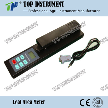 Portable LCD Leaf Area Meter measuring the leaf area without damage