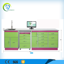 Foshan Compass spliced seamlessly Material Dental Cabinet for Surgery Room