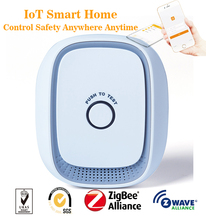 Smart IoT Things ZigBee or Z-Wave Gas Leak Detector Control by APP Android and iOS