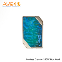 2018 Hot New Products Express Vape Mods Limitless Classic 220W Box Mod Update From Limitless LMC 200W