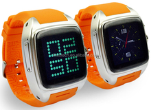 Good Quality Cell Phone Watch Dual Core WIFI Fashion Watch SIM Card 3G Smart Watch Phone MT6572