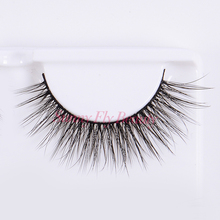 New arrival private logo high quality handmade faux mink eyelashes