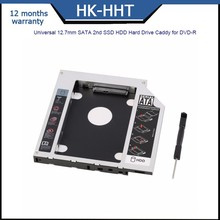 IDE To SATA 2nd HDD Caddy 12.7mm Universal CD/DVD-ROM Optical Bay