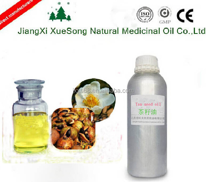 Best selling products pure & natural tea seed oil for skin care and hair care , medical grade