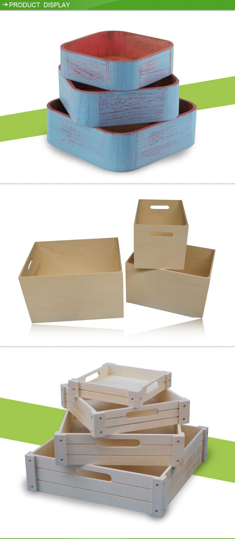 Cheap wooden crates small wooden boxes wholesale arts for Art minds wood crafts