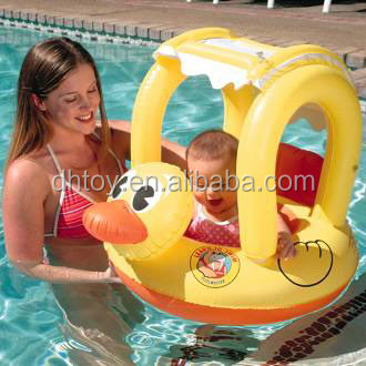 inflatable sunshade baby care float