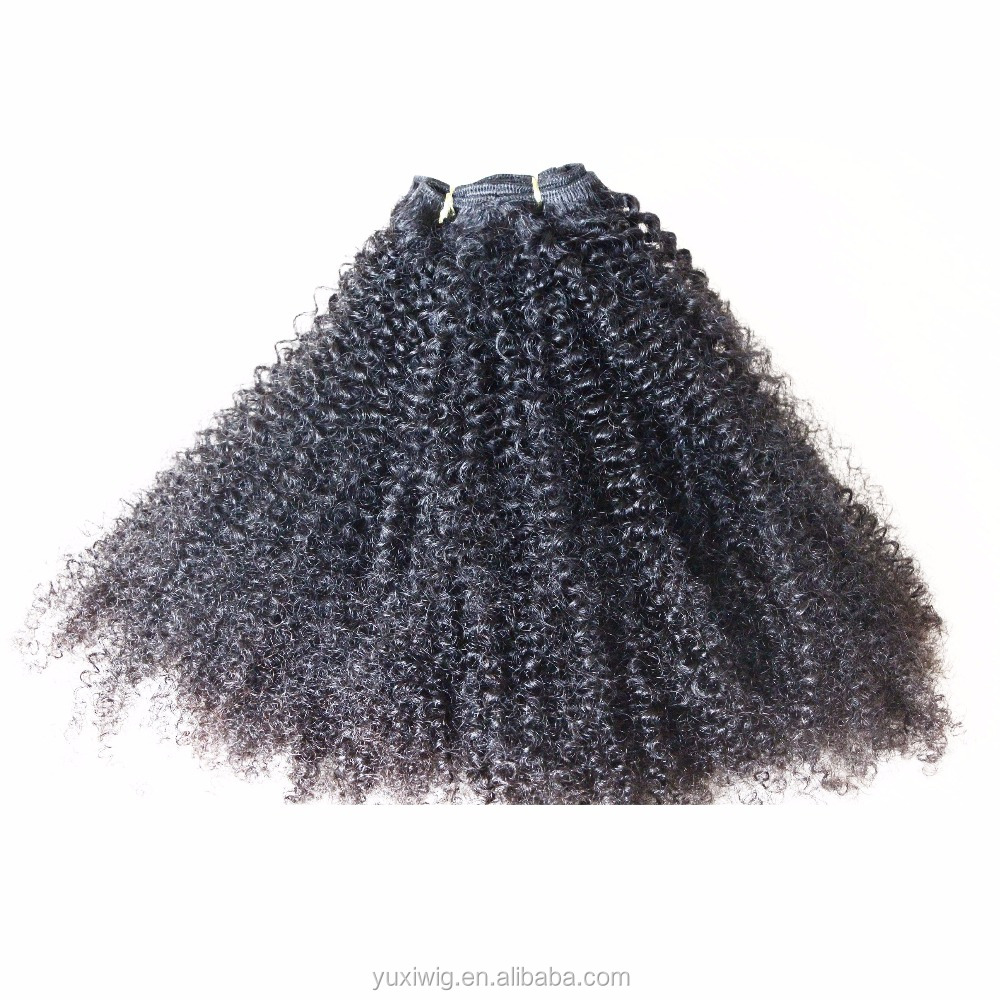 Factory Wholesale Price Afro Kinky Curly Virgin Remy Brazilian Weaving braiding hair
