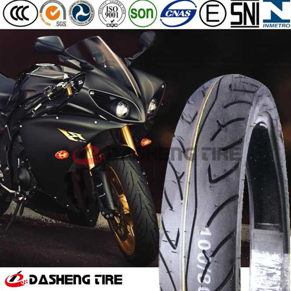 China Motorcycle Tubeless Tyre 360-18, Motorcycle Tyre