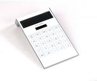 White Scientific Electroinc Desktop Calculator