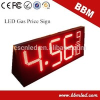 gas station 12 inch digital led gasoline price display