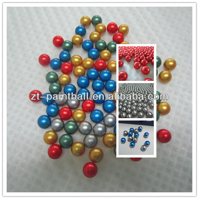 high quality FOTAI colorful paintball balls bullets in gun from factory