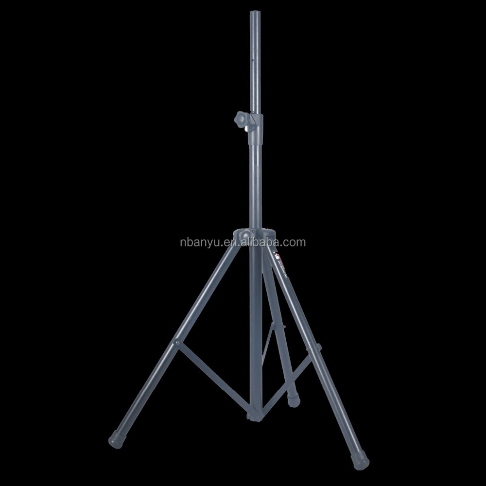 PRO Adjustable Height 6ft Tripod PA Speaker Stand with Carrying Bag, PAIR