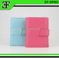 Lovely pink funky trendy festival gift hot selling leather ladies purse wallet for women