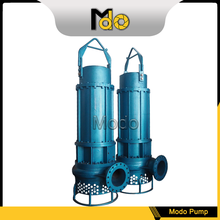 New style Noncorrosive Submersible Slurry Pump for Barge
