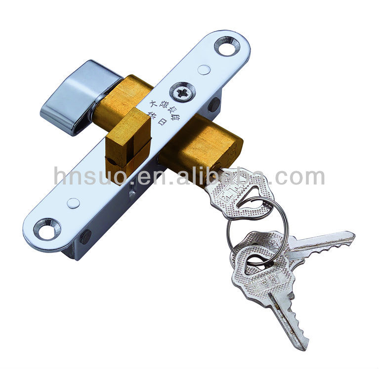 aluminum pole door lock 554S Captn
