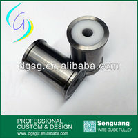 Stainless Steel Wire Guide Roller/Pulley For Extruding Machine Water tank