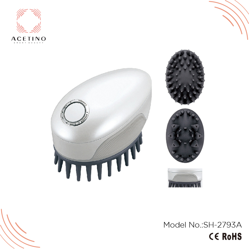 Christmas Novelty Products Plastic Spa Bath Massager Head Comb Massage