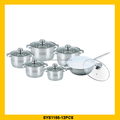 Brand new stainless steel cookware steamer pot with high quality