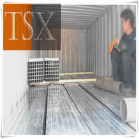 Tianjin manufacturer TSX-GP 13679 construction structural galvanized steel pipe hot rolled scaffolding pipe/tube