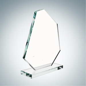 New crystal design trophy Spear jade glass trophy for employees awards