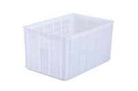 Big Volume Plastic Vegetable Fruit Crate With Wheels