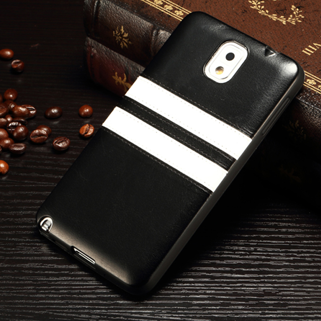 For Samsung Galaxy Note 3 High Quality Mobile Phone TPU Leather Case