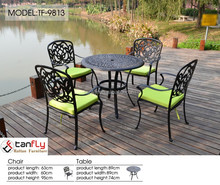 2015 hot sale cast aluminum patio outdoor furniture with factory price.