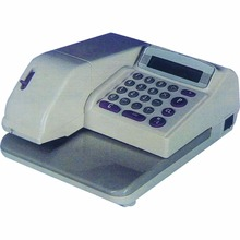 High speed printing multi-currency code support 14 digits Lcd display Electronic Check / Cheque Writer CK310B