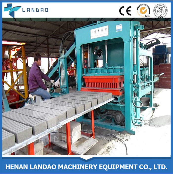 Manufacture Stationary Hollow Cement Fly Ash Sand Brick Making Machine