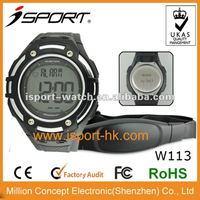 fashion stopwatch digital wifi calorie counter heart rate monitor sport watch