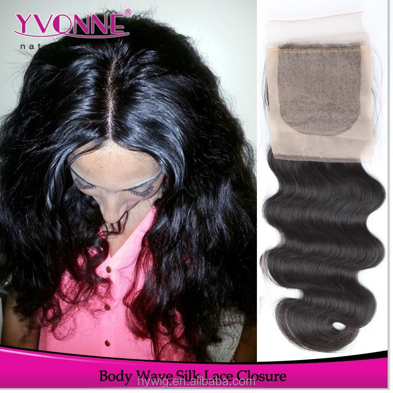 Most popular products brazilian body wave silk base lace closure