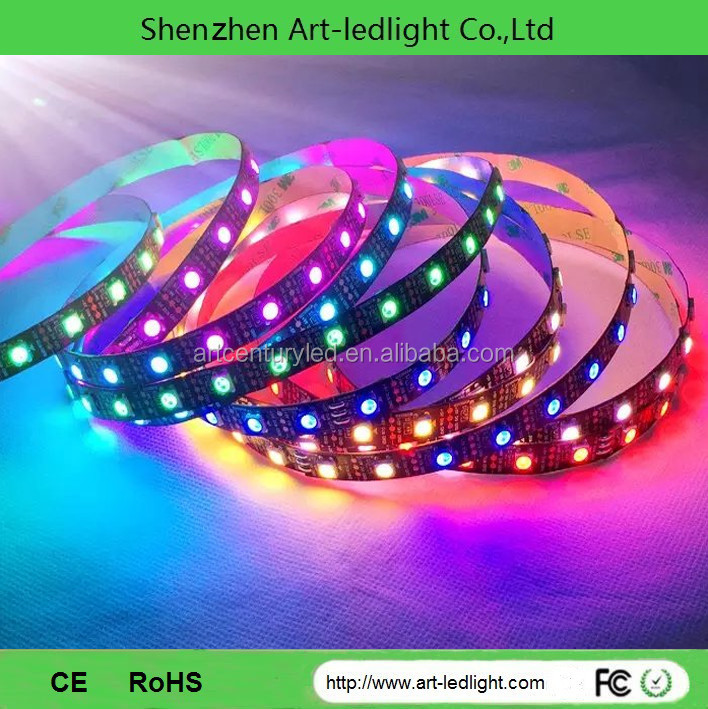 led strip r + g + b + w led strip pixel 32 60 64 144 led meter 5050 addressable rgb led strip 10 30 32 60 64 144 SK6812 SK6812