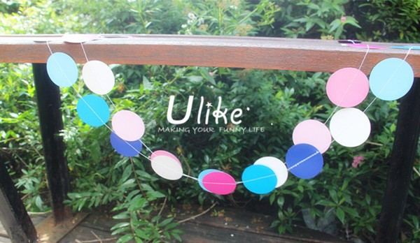2015 newly diy wedding banner party banner paper bunting cheap flying banner for birthday decoration items