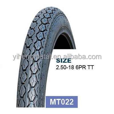 Cheap Hot Sale China High Quality motorcycle tires/tyres 2.50-18 6PR MT022