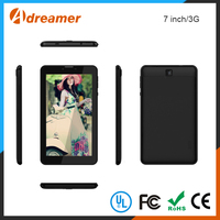 2016 high quality made in china 7 inch two camera 3g phone call tablet pc