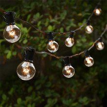 2017 Best quality electric outdoor G40 bulbs globe lovely leisure decorative String lights for party backyard xmas dorm