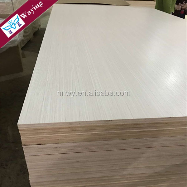Guangxi Nanning Melamine laminated Commercial Plywood for furniture