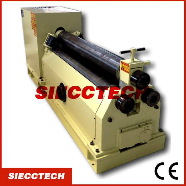 NEW <strong>TECHNOLOGY</strong> W11-12X2000 mechanical symmetric three roller coiling machine/roller bending machine