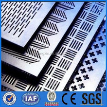 aluminum perforated metal sheet/stainless steel perforated metal mesh/galvanized perforated metal