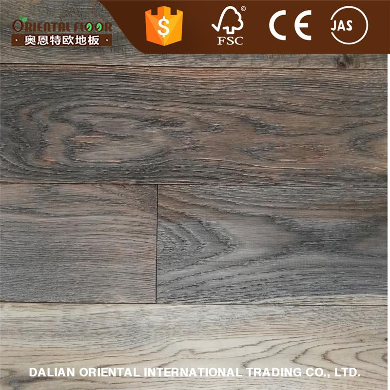 US style and 2016 new color solid oak import flooring