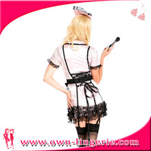 Women's Cosplay french Maidservant Apron Maid Outfits Halloween French Maid lolita Costume
