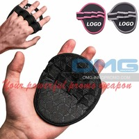 Workout Grips Pads Weight Lifting Gloves GYM Training Silicon Padding Fitness Yoga Crossfit WODS Callus Guard Palm Protector