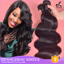 Peruvian hair /Malaysian hair body wave 100% raw virgin hair wholesale