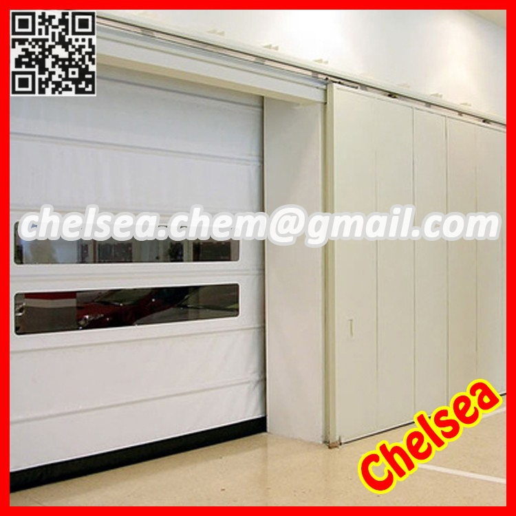 High speed vertical folding industrial door