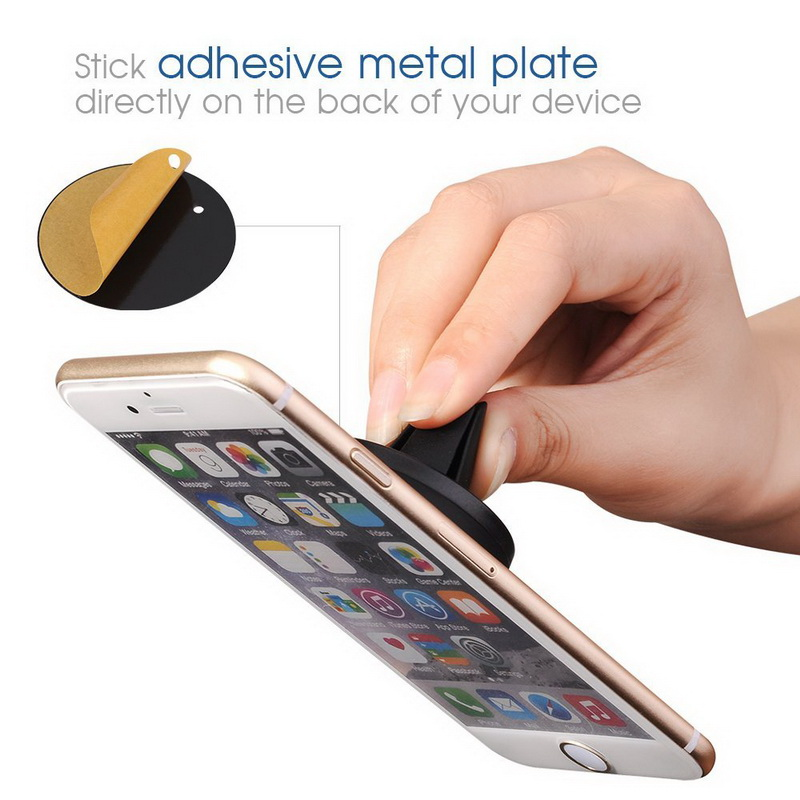 Factory Wholesale Universal Car Mount Strong Magnet 360 Degree Rotation Holder for iphone