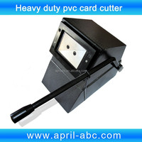 Heavy Duty Manual pvc id card cutting machine