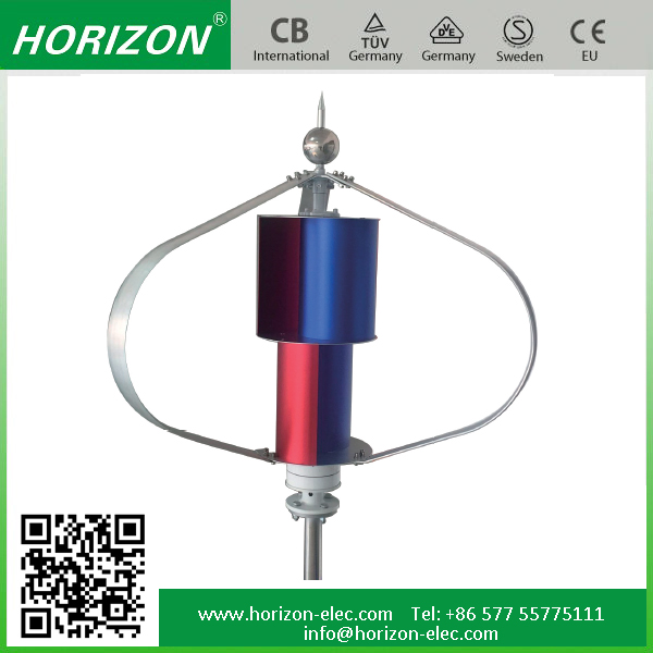 Small vertical axis wind turbine 500w 24/48V speed 15m/s 500 watts wind turbine