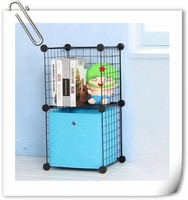 small corner portable cube metal pot rack