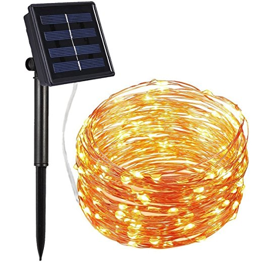 Flexible Copper Wire Low Power Consume Outdoor Christmas Led Falling Snow Lights Solar Fairy Lights