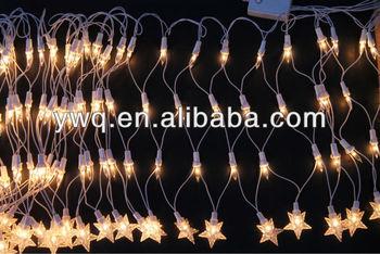 Cool White Net Lights Led Christmas Light Poinsettia Christmas ...